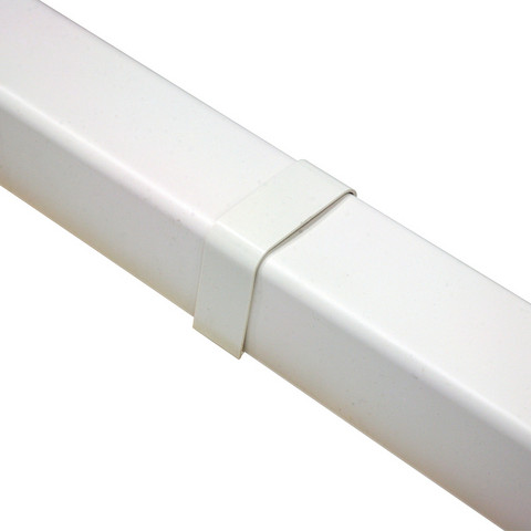 Ilmalämpöpumpun asennustarvike 80x60 mm jatkokappale