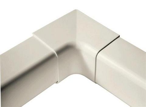 Ilmalämpöpumpun asennustarvike 80x60 mm sisäkulma