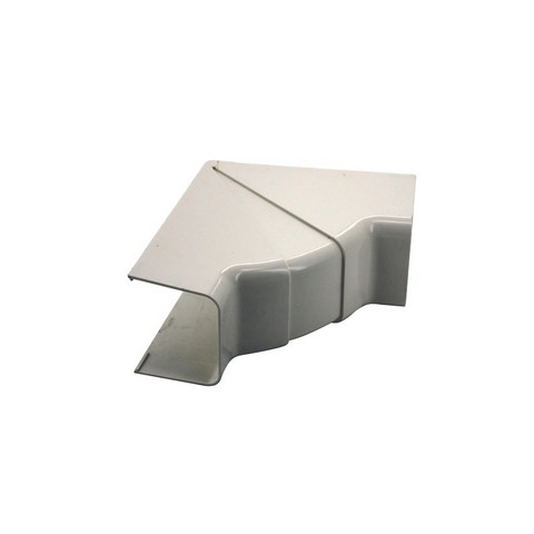 Ilmalämpöpumpun asennustarvike 80x60 mm säädettävä sisäkulma