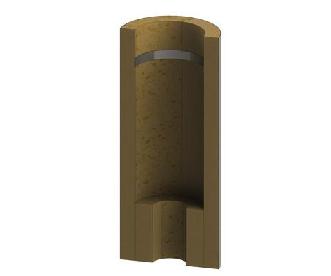 Savupiipputarvike Jeremias välipohjan lisäeriste Plus, ø 115 mm