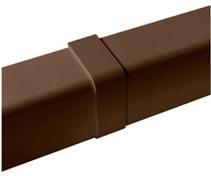 Ilmalämpöpumpun asennustarvike 80x60 mm jatkokappale ruskea Artiplastic