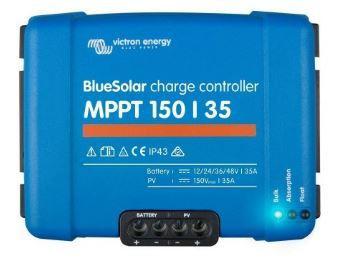Lataussäädin Victron BlueSolar MPPT 150/35