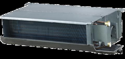 Kanavamallin puhallinkonvektori, teho 4,40 / 6,80 kW, ESP 30, 2-putkea CH-FDH045K2