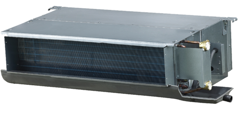 Kanavamallin puhallinkonvektori, teho 5,50 / 8,10 kW, ESP 30, 2-putkea CH-FDH060K2