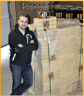 Ekologinen HOT-puupriketti 960 kg eurolava kaikkiin tulisijoihin