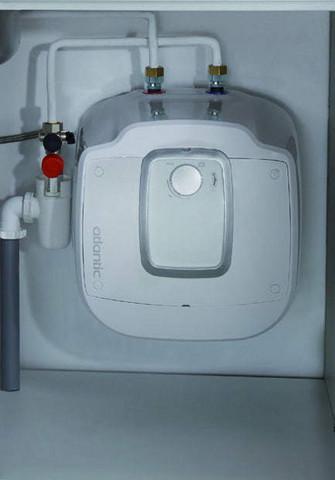 Pieni lämminvesivaraaja Atlantic Ondeo 15 litraa alakaappiin