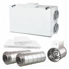 Ilmanvaihtokone Airsec 70H + lämmitin + äänenvaimentimet + suodattimet
