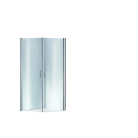 Puolipyöreä suihkunurkka Opal 90 x 90 x 195 cm, kirkas