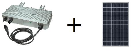 AE Conversion pieni aurinkosähköjärjestelmä 250Wp omakotitaloon