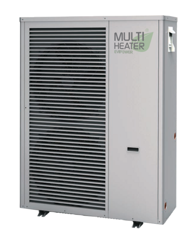 Ilma-vesilämpöpumppu Multi Heater EVI HP 20 Monoblock
