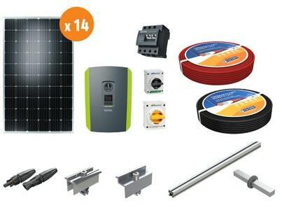 Aurinkosähköpaketti, hybridi 4,0 kW