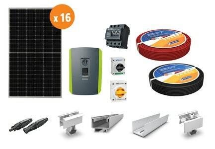 Aurinkosähköpaketti, hybridi 5,36 kW