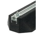 Värinänvaimennin Artiplastic kumijalusta 400 mm, 2 kpl