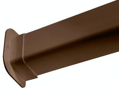 Ilmalämpöpumpun asennustarvike 80x60 mm läpivienti ruskea Artiplastic