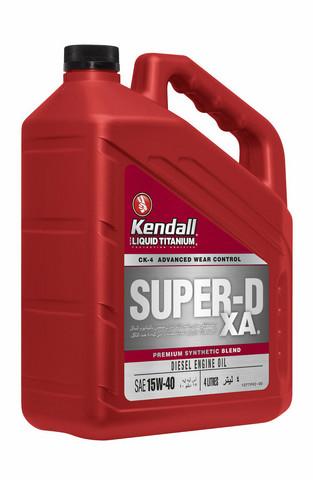 Kendall Super-D XA (TI) 15W-40, 3,785 litraa