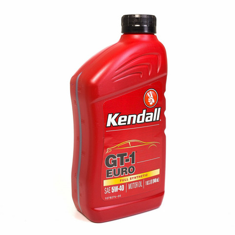 Kendall GT-1 Full Synthetic Euro Motor oil 5W-40, 0,946 litraa