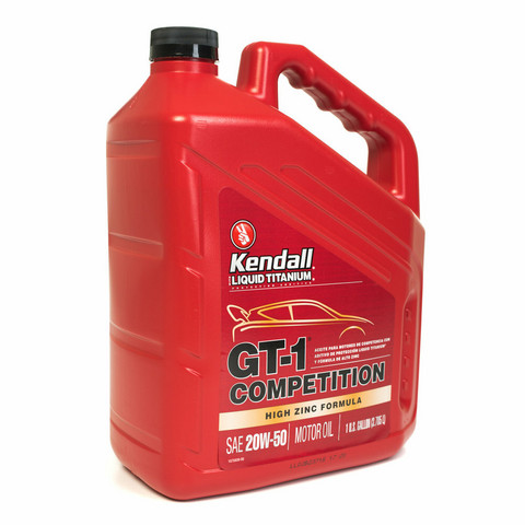 Kendall GT-1 Competition (Ti) 20W-50, 3,785 litraa