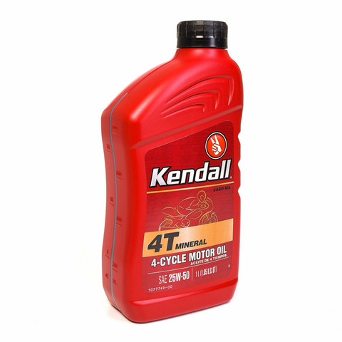 Kendall 4T Mineral 25W-50, 1 litra