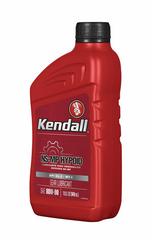 Kendall NS-MP Hyp Gear Lubr 80W-90, 0,946 litraa