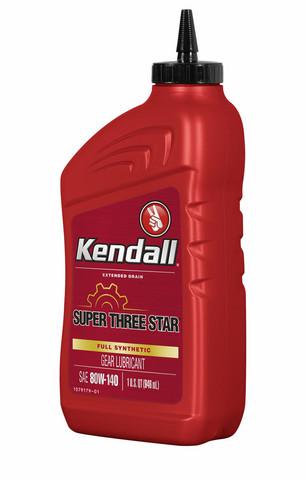 Kendall Super Three Star 80W/85W-140, 0,946 litraa