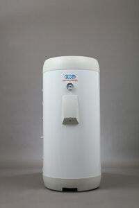 Lämminvesivaraaja OSO Delta Geocoil DGC 200, 3 kW
