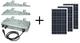 AE Conversion aurinkosähköjärjestelmä kolmivaiheinen 750Wp