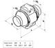 Kanavapuhallin Airsec TTPA 160 mm + tyristorisäädin