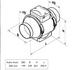 Kanavapuhallin Airsec TTPA 200 mm + tyristorisäädin