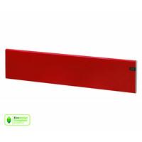 Matala sähkölämmitin Adax Neo punainen, korkeus 200 mm