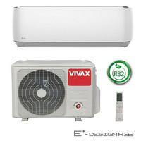 Ilmalämpöpumppu Vivax E+ design 12 lämmitys-/jäähdytyskäyttöön