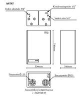 Multiheater Eco 18 -poistoilmalämpöpumppu