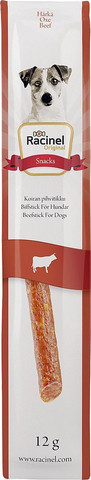 Racinel Beef Sticks Pihvitikku nauta, 12g x 5kpl