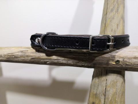 Vuoritettu nahkakaulapanta 15mm