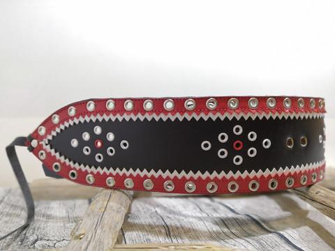 Lapinvyö 80mm/2h Musta/valko/punainen