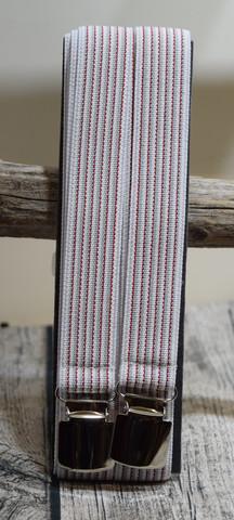 valko/harmaa/punainenhenkseli 25mm