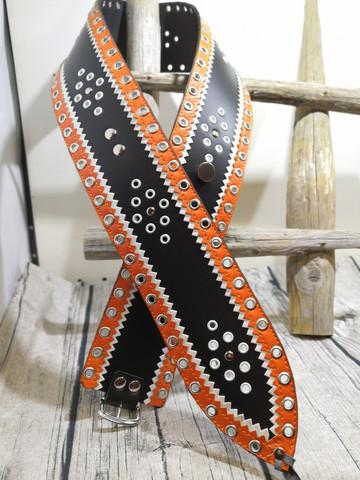 Lapinvyö 80mm/2h Musta/valko/oranssi