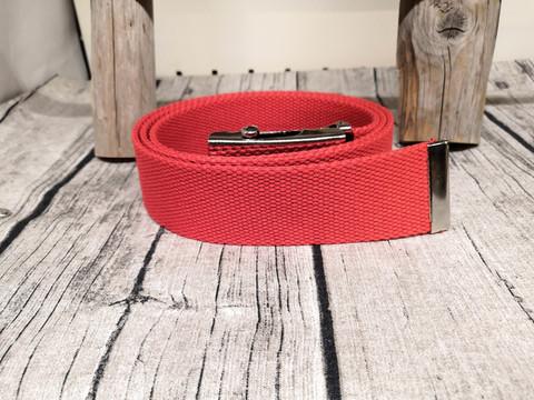 Punainen kangasvyö 40mm