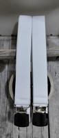Valkoinen henkseli 25mm