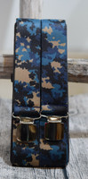 Sininen maasto henkseli 36mm