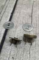 Magneettilukko patina 1,2 cm