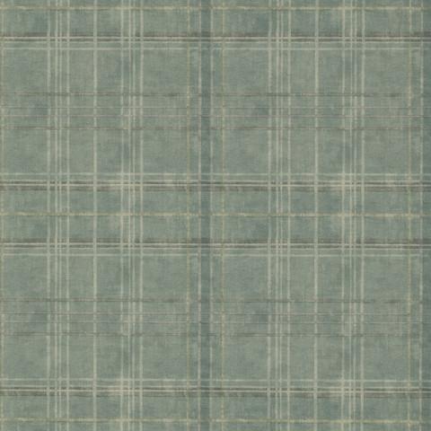 Shetland Plaid - Teal FG086.R11