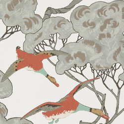 Flying Ducks - Coral/Clay FG090.J87