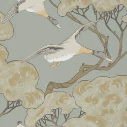 Flying Ducks - Slate Blue FG090.H54