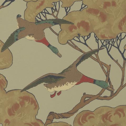 Flying Ducks - Sky/Moss FG090.H22