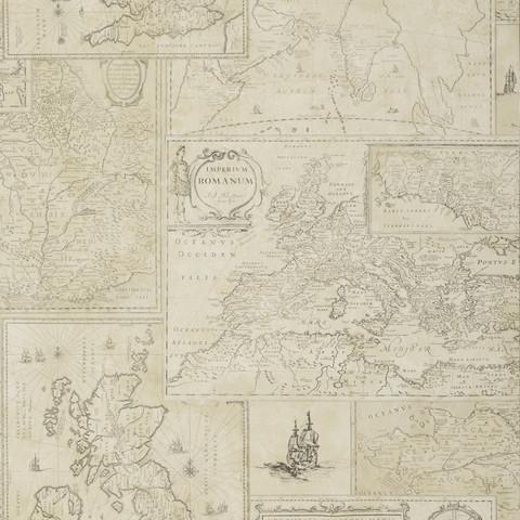 Bohemian Travels - Parchment FG077.J107
