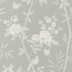 Peony & Blossom - Soft Blue BW45066.6