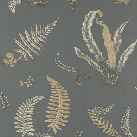 Ferns - Charcoal/Bronze BW45044.6