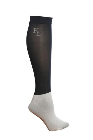 Kingsland Classic Show Sock, kolmen parin pakkaus, eri värejä