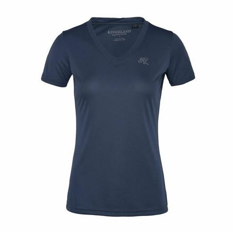 Kingsland Desma tekninen T-paita, harmaa