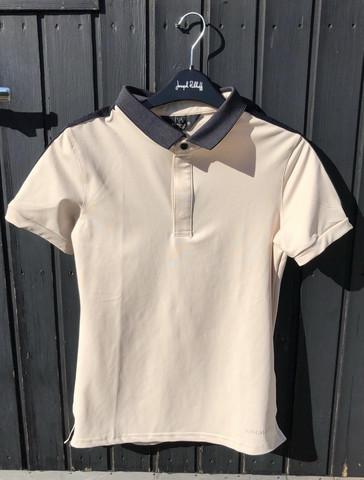 Kingsland Flo Ladies Polo Shirt, beige, koko M